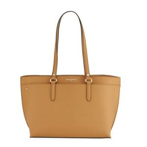 Karl Lagerfeld Paris Fleurette Leather Tote Bag